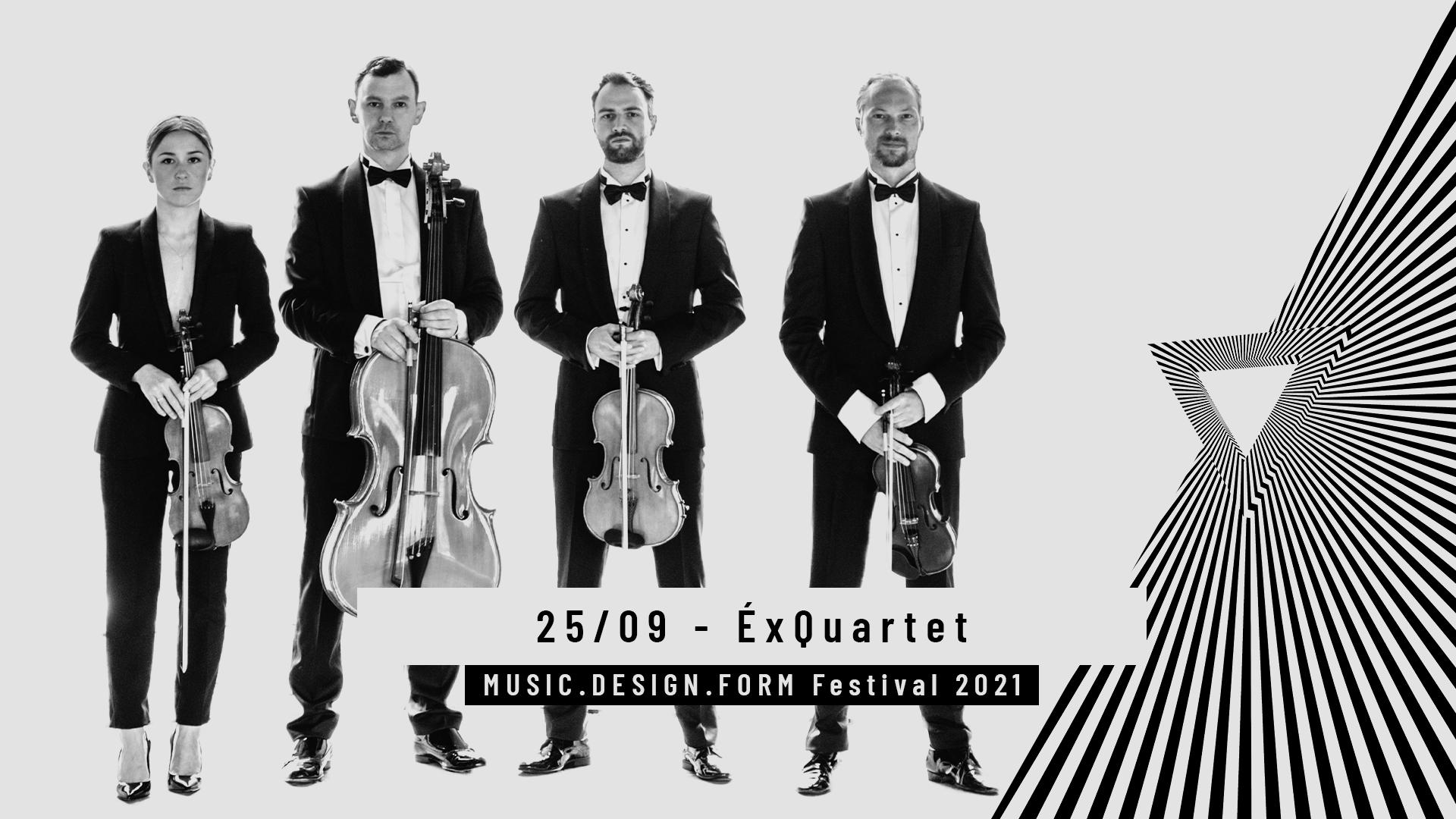 MDF Festival | ÉxQuartet & Patryk Matwiejczuk