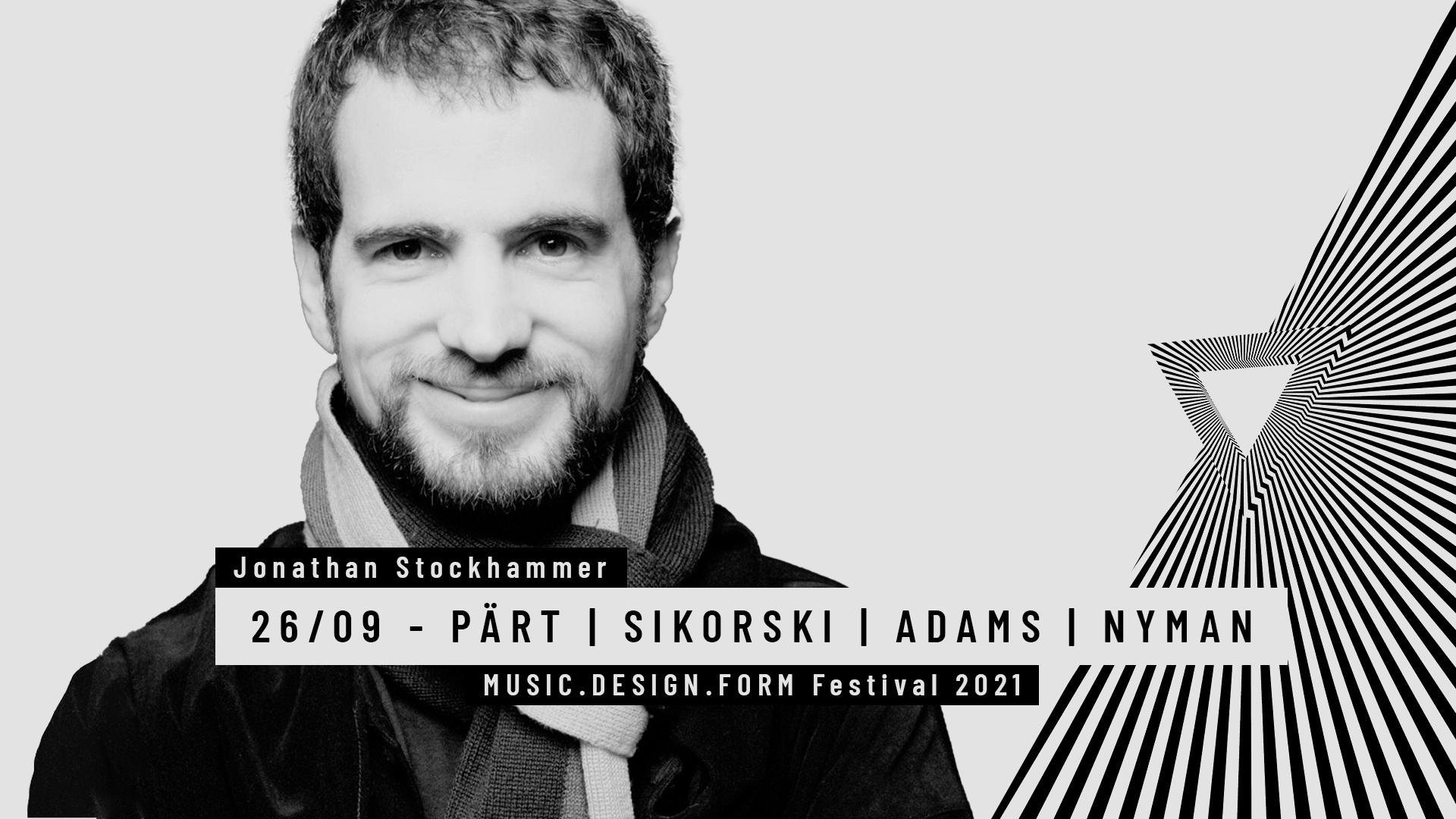 MDF Festival PÄRT | SIKORSKI | ADAMS | NYMAN