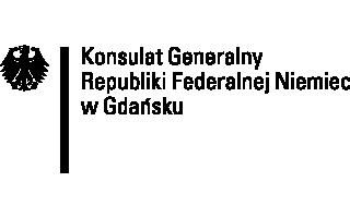 Logo Konsulat Generalny Republiki Federalnej Niemiec w Gdańsku